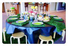 Gruffalo Party Gruffalo Party, Party Themes, Party Ideas, Birthday Parties, Table Decorations, Kids, Birthday Celebrations, Children, Anniversary Parties