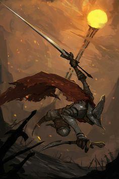 Dark Souls 3 Undead Legion fan art by Chi Duong Dark Souls 3, Arte Dark Souls, Dark Souls Armor, Dark Fantasy Art, Fantasy Artwork, Soul Saga, Fan Art, Video Game Art, Fantasy Characters