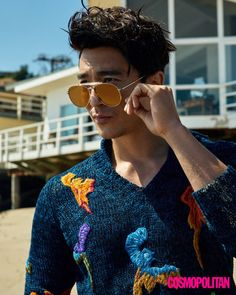 Daniel Henney is as handsome as ever for 'Cosmopolitan' pictorial in Malibu | allkpop.com