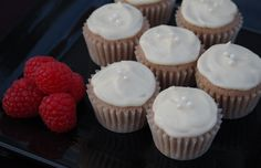 Jasmine Cupcakes with Raspberry and Honey featuring Happy Lucky's ...