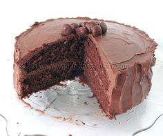 Nigella's Chocolate Fudge Cake