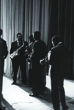 John Coltrane, Paul Chambers, Cannonball Adderley, Jimmy Cobb and Miles Davis, The Chicago Amphitheatre 1957