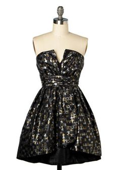 quasar cocktail dress - modcloth