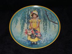 "1986 Knowles Childhood Holiday Memories ""Easter"" Collector Plate by Jessie Willcox Smith by ThePlateHutchII on Etsy"