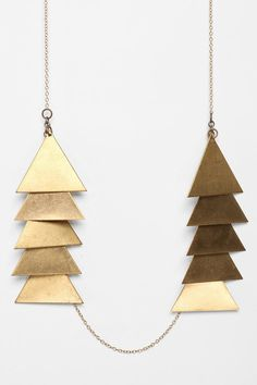 Laura Lombardi Scale Necklace at Urban Outfitters online