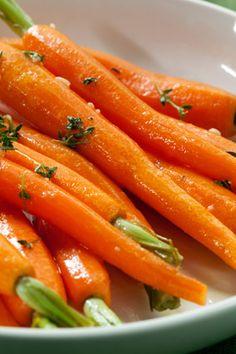 Baby Carrots with Orange Glaze