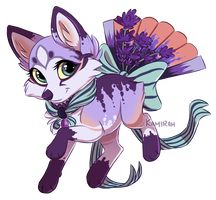 Commission for xWhiteDreamsx Foxfans are a closed species by Belliko-art Commission :: xWhiteDreamsx Cute Fantasy Creatures, Cute Creatures, Mythical Creatures, Manga Wolf, Anime Wolf, Cute Animal Drawings, Cute Drawings, Cute Cartoon, Cartoon Art