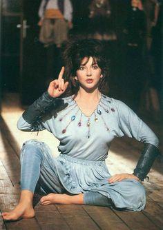 "kitebush: Kate Bush performing 'Suspended in Gaffa"", 1982."