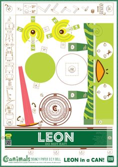 Make your own CANIMAL!! LEON