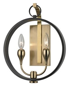 2 LIGHT WALL SCONCE WITH OUTER :: WALL SCONCES :: Ceiling lights Toronto, Bath and vanity lighting, Chandelier lighting, Outdoor lighting and kitchen lights :: Union