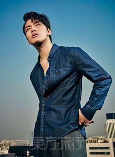 Yeo Jin Goo - Eastern Trends Magazine February Issue '16