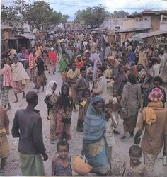 Somalia A place of bustling crowds and business
