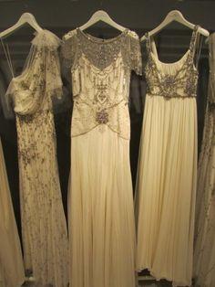 Jenny Packham vintage-inspired wedding dresses... so perfect!