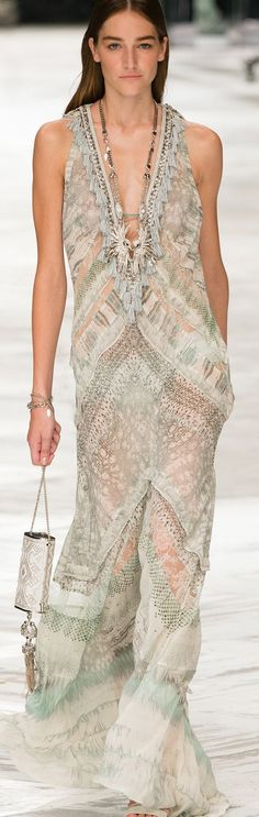 Roberto Cavalli Spring 2014 Ready-to-Wear