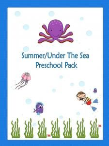 Summer/Under The Sea Preschool Pack-Hurry up! This giveaway promotion ends at 11:59:59PM CST on 06-29-2013