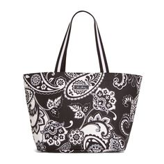 Large Family Tote in Midnight Paisley, $58 | Vera Bradley