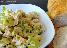 Mia's Domain | Real Food: Curried Apple Chicken Salad