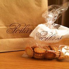 @mogloguk パリのシャレオツパン屋さん、ポワラーヌを教えてもらった!クッキーうまー(^◇^)#poilane #ポワラーヌ #クッキー