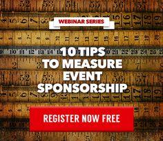 10 Tips to Measure Event Sponsorship Webinar