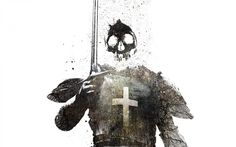 Knights simple background swords templar wallpaper | 1440x900 | 219746 ...