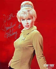 Star Trek: Grace Lee Whitney autographed photo of Janice Rand