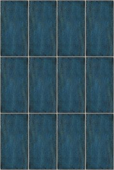 Catania Blue Tile - I loved these when I saw them in the shop. Gorgeous effect in the glaze. Brick Texture, Blue Texture, Tiles Texture, Stone Rug, Brick And Stone, Diy Bathroom Remodel, Kitchen Remodel, Craftsman Cottage, Summer Waves