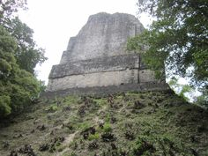 Awesome view of one of the many pyramids at Tikal...