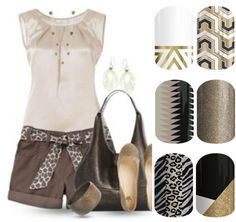 A fashion look from June 2013 featuring animal blouse, real leather shoes and brown leather bag. Browse and shop related looks. Elegant Summer Outfits, Maxi Skirt Outfits, Jamberry Nail Wraps, Short Dresses, My Style, Stylish, Pretty, Polyvore, Clothes