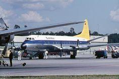 Condor Vickers Viscount at Frankfurt Airport, 1965 - wikimedia