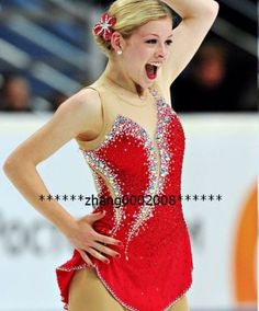Ice-skating-dress-red-Competition-Figure-Skating-dress-Baton-Twirling-Costume