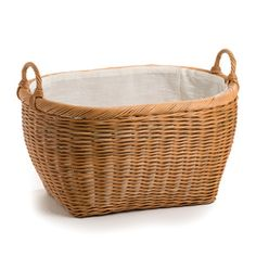 You won't mind carrying around laundry with our Oval Laundry Basket. Available in two colors to match any decor.