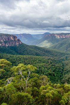 Beautiful view of the Blue Mountains, Australia. #travelaustralia #hiking #australia #seeaustralia