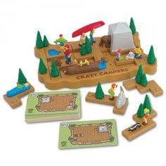 Crazy Campers Puzzle Top Toy Review