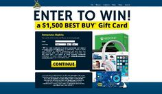 Win a $1500 Best Buy Gift Card #BestBuy #Giftcard