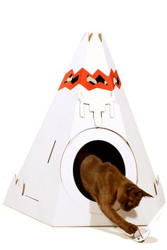 Kitty Teepee! $18.74 at boutiqueonze.ca
