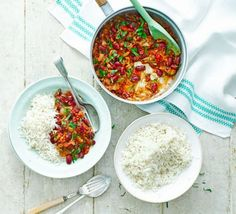 Kidney bean curry - if doubling the recipe, triple the spices and add a bit of sweetener