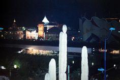 Imágenes nocturnas de la Expo 92
