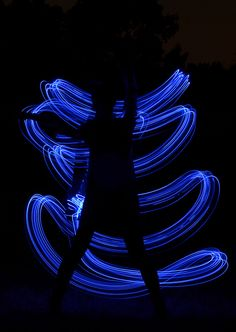 LED Light painting with long exposure | Flickr - Photo Sharing!
