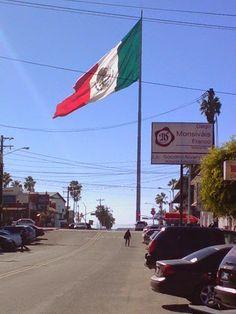 Dia de la bandera Mexicana ...