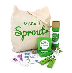 Il fantastico mondo Sprout in un unica confezione regalo. Ogni box contiente matite, colori e cartoline da piantare, mini kit di coltivazione, temperamatite ed astucci originali.