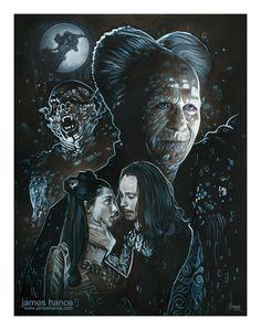 """Relentlessly Cheerful Art By James Hance - """"Across Oceans Of Time"""" (Bram Stoker's """"Dracula"""")"""