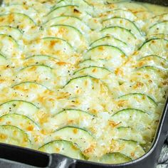 This creamy, cheesy Baked Zucchini Casserole is made with fresh zucchini, rich cream, and lots of cheese for the ultimate zucchini bake! It is an easy summer vegetable casserole that makes a great recipe to add to your meal plan. Best Vegetable Recipes, Easy Zucchini Recipes, Zucchini Casserole, Vegetable Casserole, Veg Dishes, Vegetable Dishes, Side Dishes, Salisbury Steak Recipes, Easy Casserole Recipes