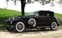 1930 Rolls Royce Phantom - Newmarket convertible sedan