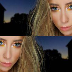 Sunset Look    lights GLAMOUR action (@lightsglamouraction) #beautyblogger #blogger #makeup #hair #style #makeupartist #beachlook #smokeyeye #naturallook #mua #beachhair #anastasiabeverlyhills #mac #nyx #morphebrushes #lotd #lipstick #contour #eyebrows Beach Look, Beach Hair, Smokey Eye, Anastasia Beverly Hills, Nyx, Contour, Eyebrows, Hair Style, Lipstick