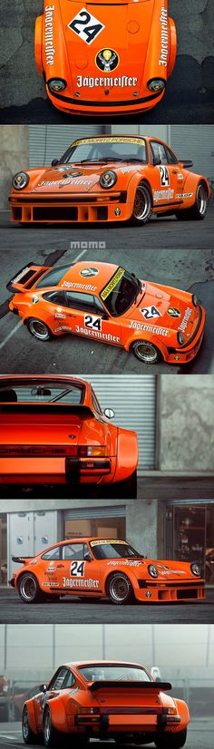 1976 Porsche 934 Jagermeister / orange / Jägermeister liveries / group 4 / Germany / www.stanceworks.com