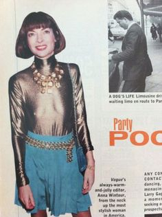 hahahah even anna wintour has been a mess...that shirt, those shorts! yikes.