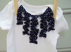 Sutton Grace: onesie dress embellishments