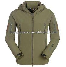 Moda hombres del diseño del invierno chaquetas al aire libre climatizadas