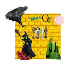 """Wizard of Oz"" by lucy3107 ❤ liked on Polyvore featuring art"