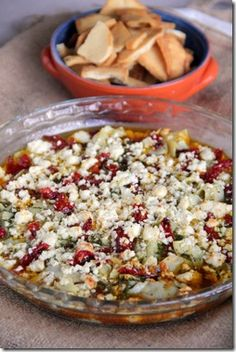 recipe: sun dried tomato feta dip [6]